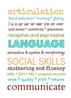 Speech Language and Social Skills